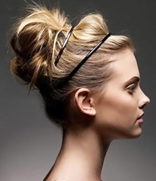 Прически для грязных тонких волос