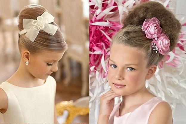 Плетение для девочки на длинные волосы своими руками 33