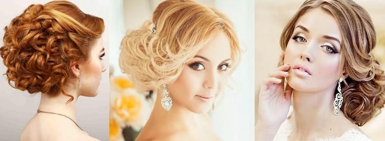 Свадебные прически на средние волосы, видео и, фото