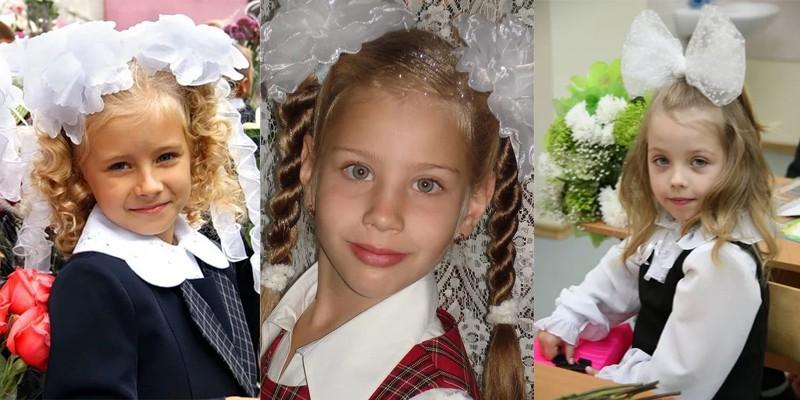 Красивые прически на 1 сентября в 1 класс для девочек