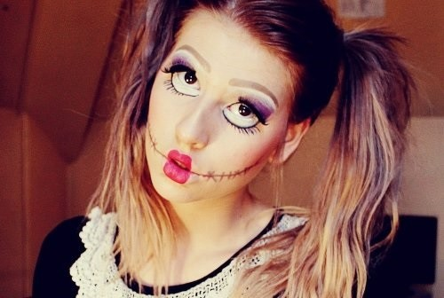 Кукольный образ на хэллоуин