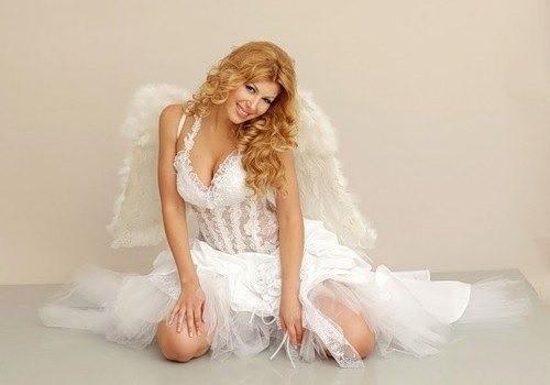 Образ ангела на хэллоуин, делаем прическу