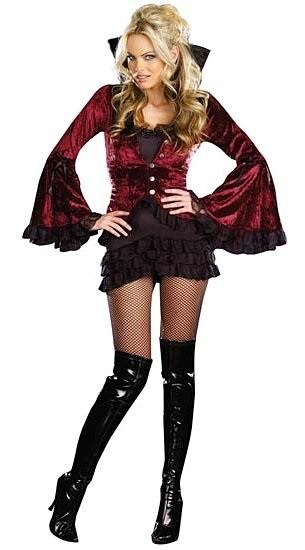 Прически и образ для вампира - второй вариант