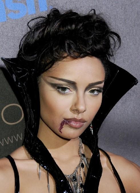 Прически и образ для вампира третий вариант