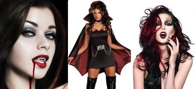 Прически и образ для вампира