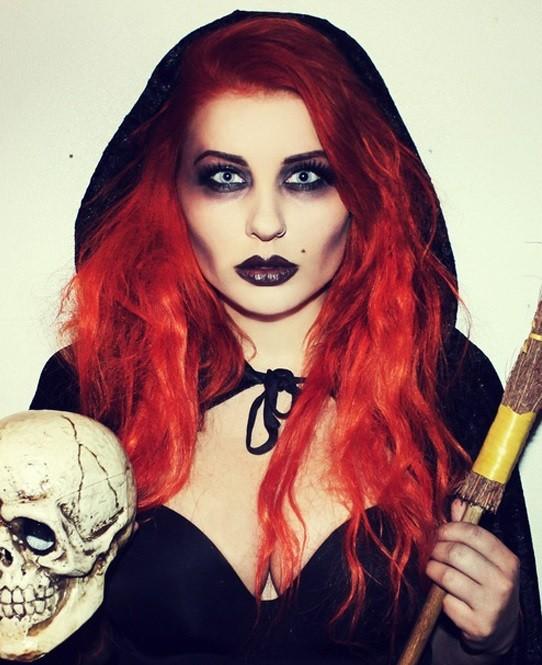Прически и образ для ведьмы
