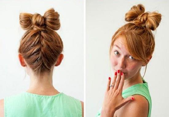 Бант из волос своими руками фото фото 415