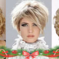 Прически на Новый год на короткие волосы