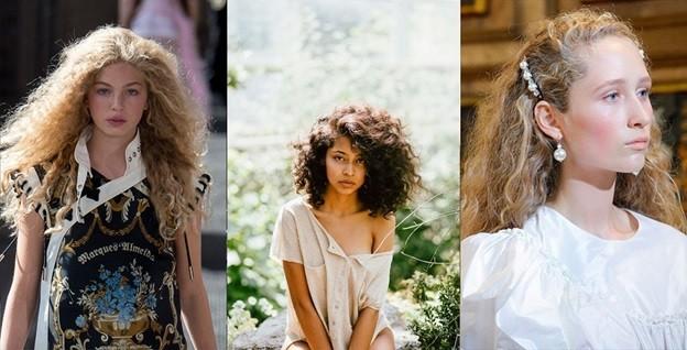 Кудри-пружинки новогодняя прическа для средних волос
