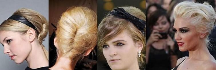 Бабетта на короткие волосы