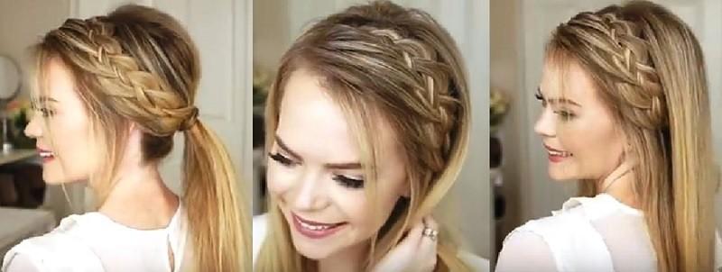 Очаровательный узор из кос