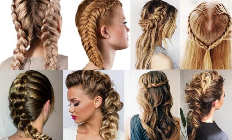 Вывернутые косы и их разновидности