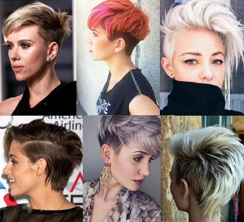 Андеркат на средние волосы