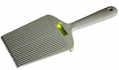 Флаттопер специальная расчёска-лопатка с уровнем