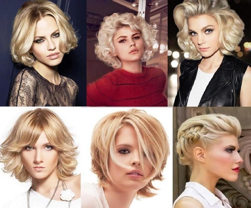 Прически для блондинок на выпускной на короткие волосы