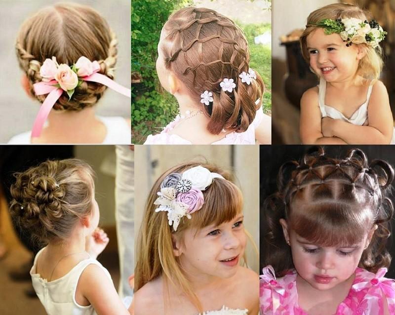 Прически для маленьких принцесс (садик, 4 класс) на выпускной короткие волосы