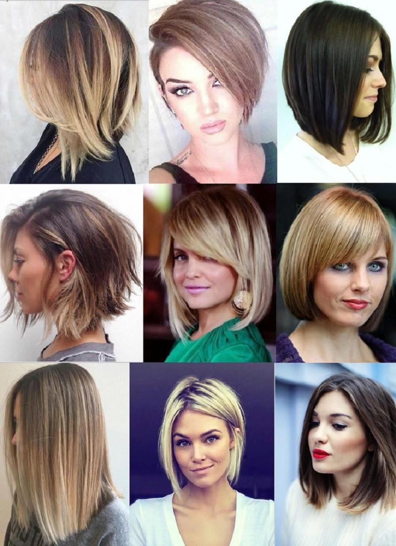 Стрижка каре на короткие и средние волосы