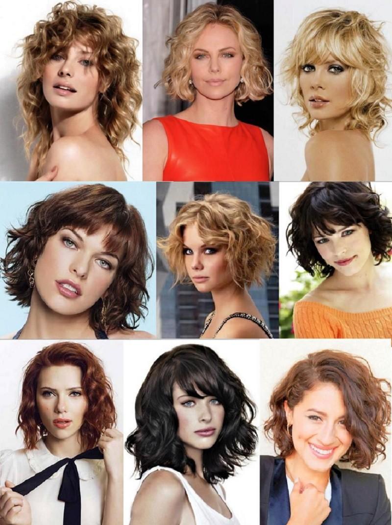 Волнистое или растрепанное Каре для средних волос