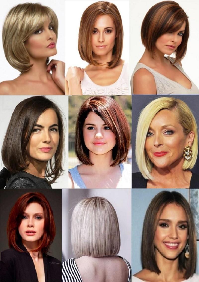 Классическое Каре на средние волосы
