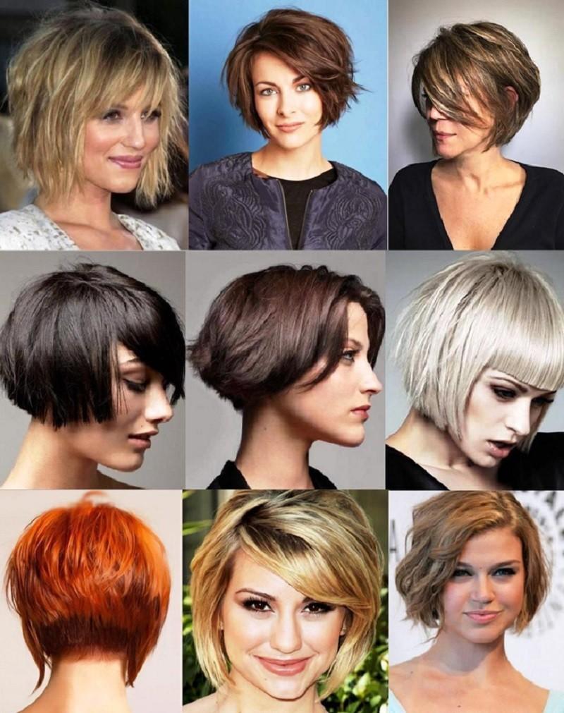 Градуированное Каре для коротких волос