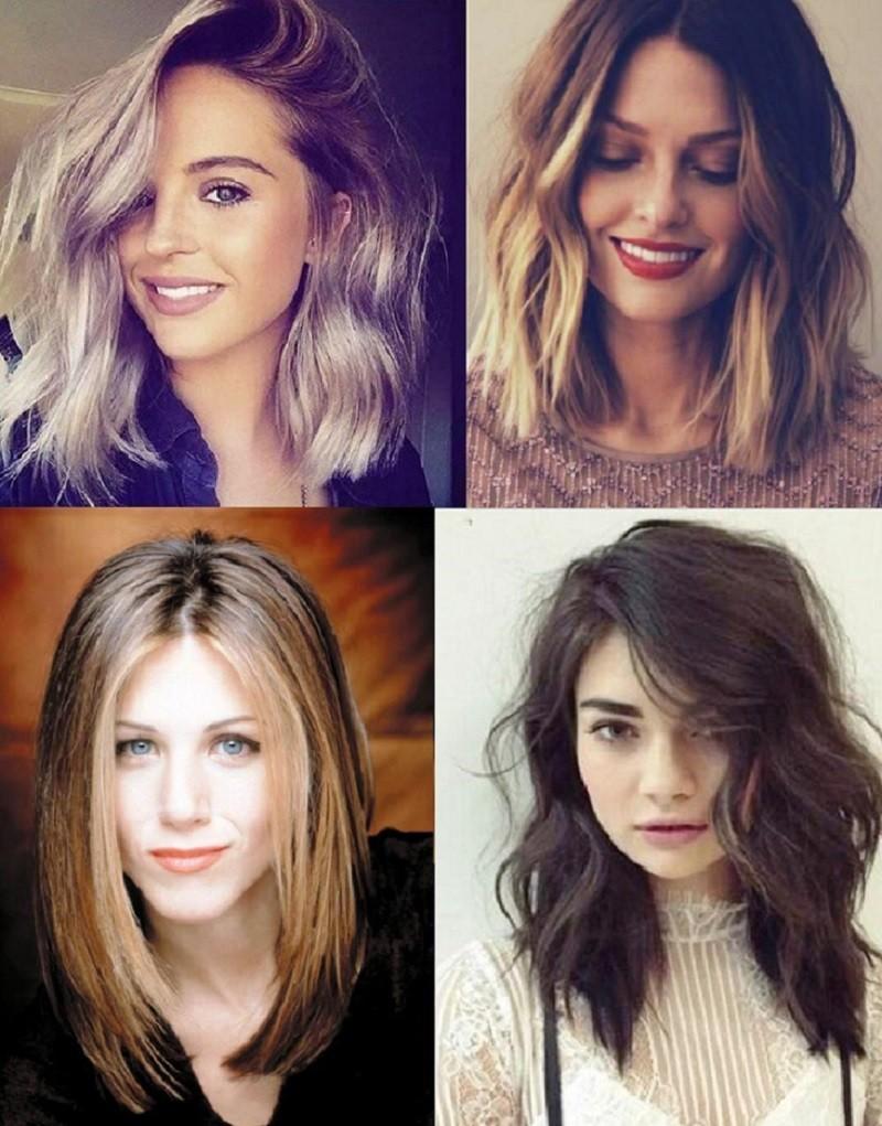 Каре на длинные волосы