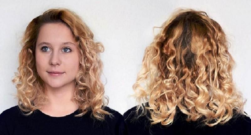 способ завивки каре - формирование из волос жгутов