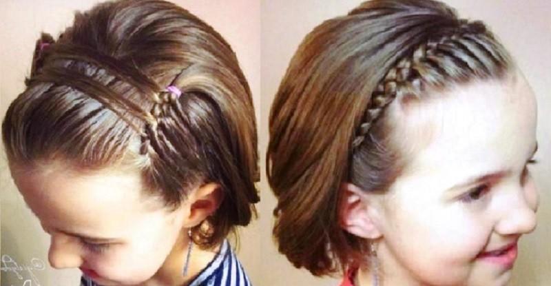 Ободки из волос
