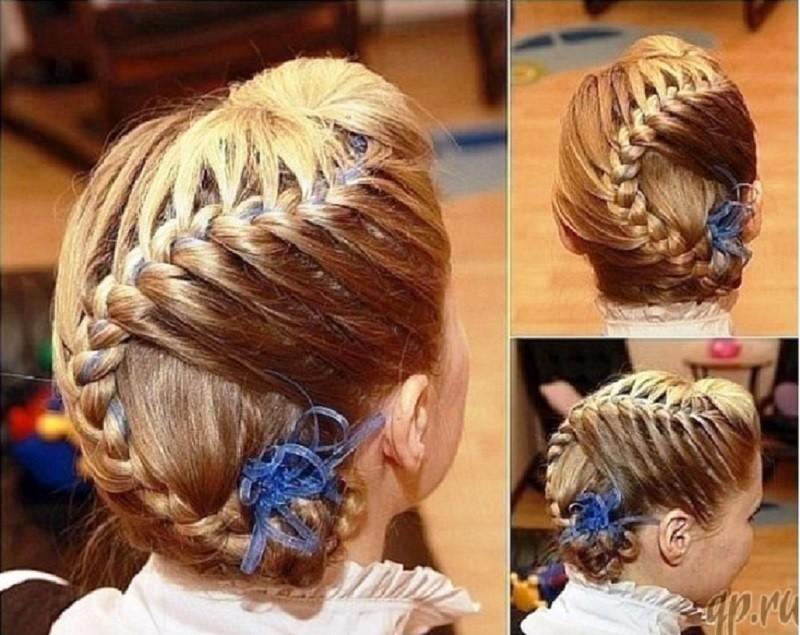 Изысканная французская коса