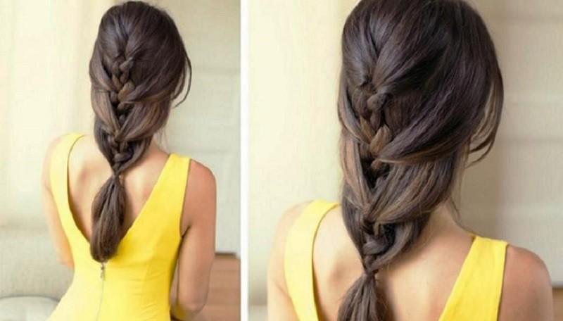 Французская коса «Романтика»