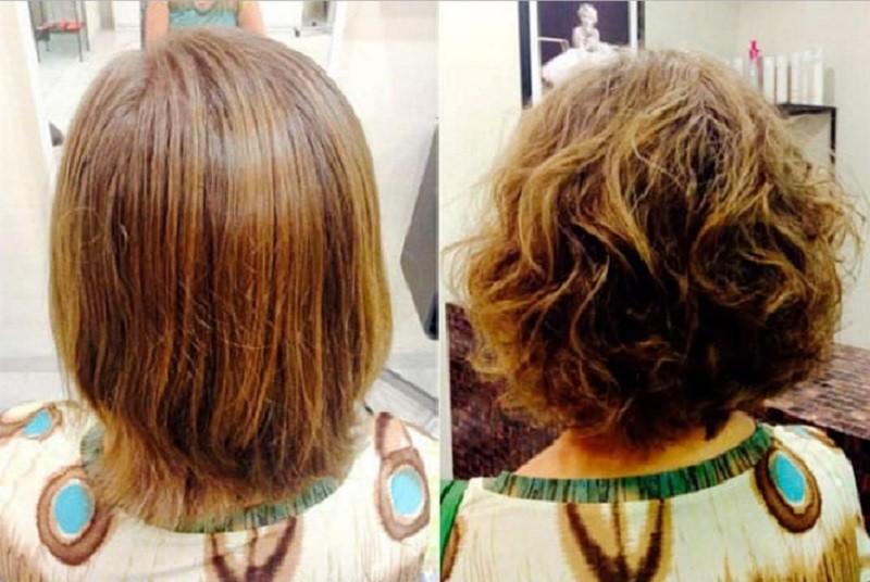 Химическая завивка на короткие волосы: легкий и крупный вариант (50 фото )