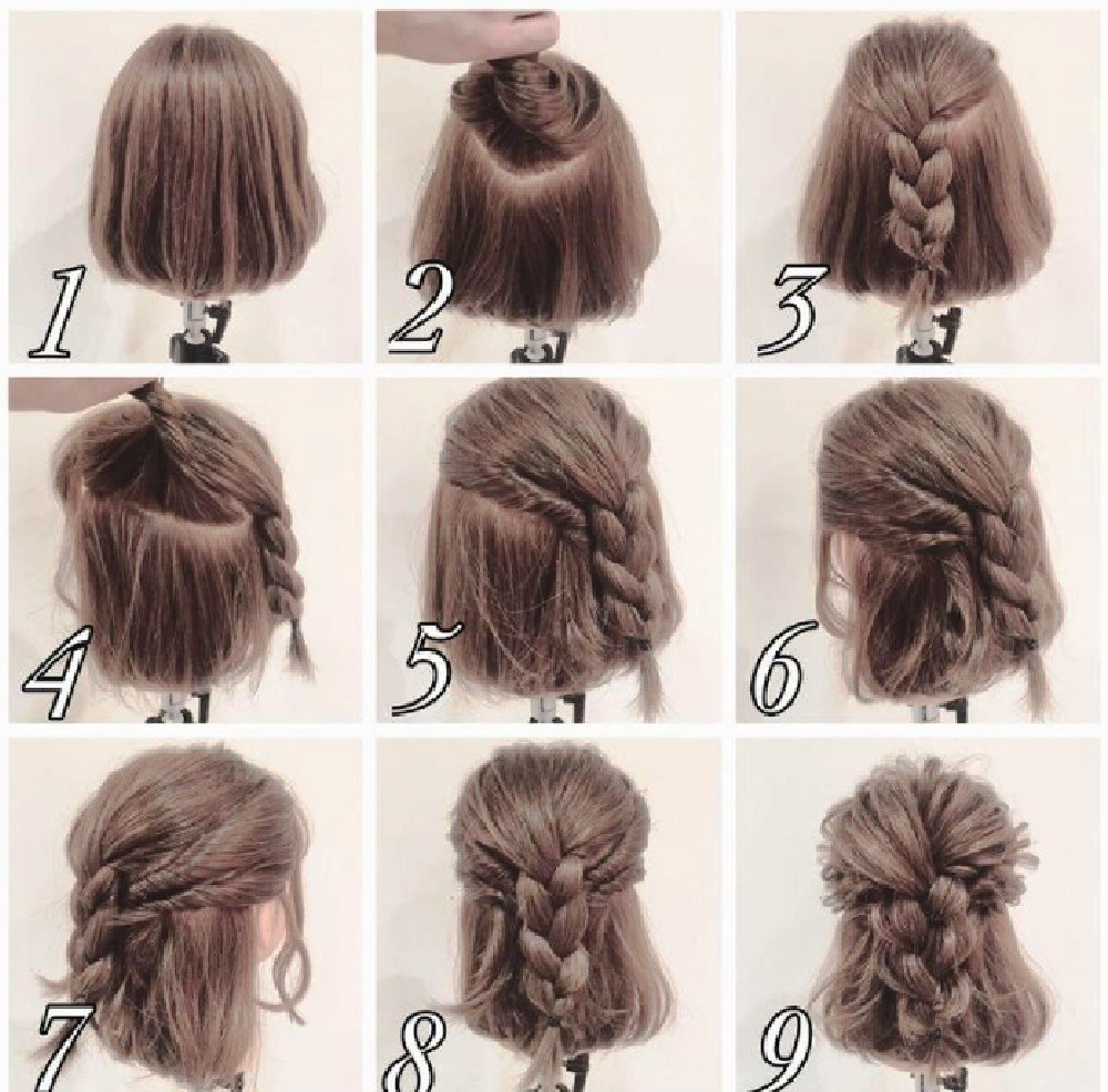 Коса и распущенные волосы