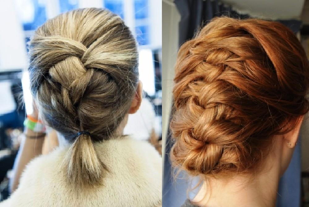 Классическая французская коса