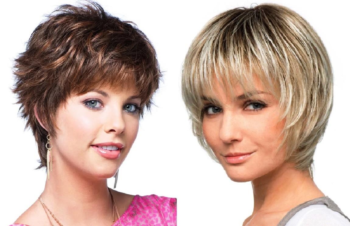 стрижки на короткие тонкие волосы фото с челкой