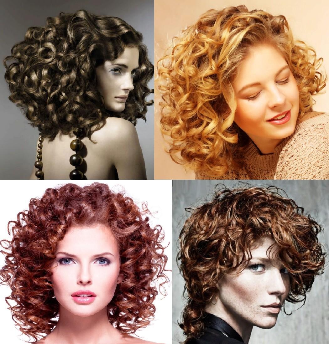 Биозавивка волос на средние волосы
