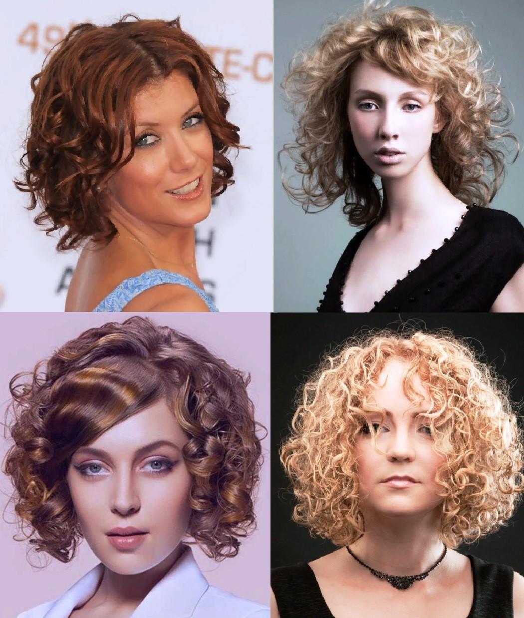 Биозавивка на средних волосах