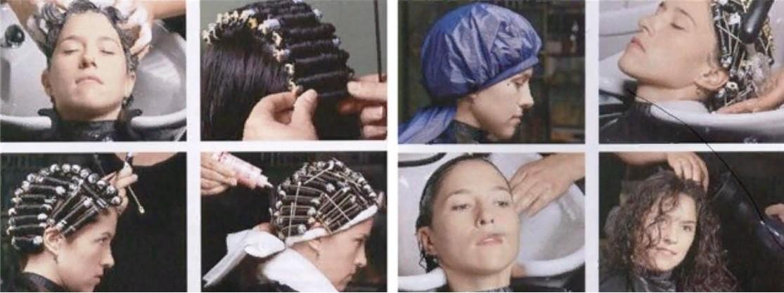 Биозавивка на средних волосах поэтапное выполнение