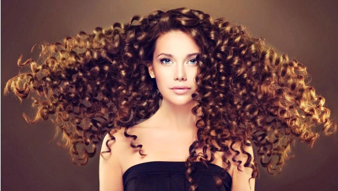 Вертикальная химия на длинные волосы