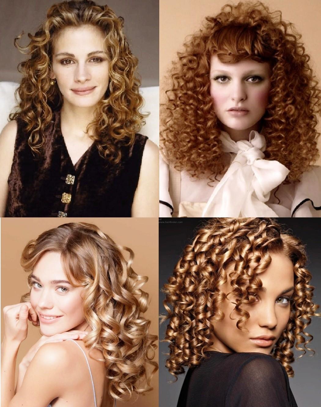 Вертикальная химия на средние волосы