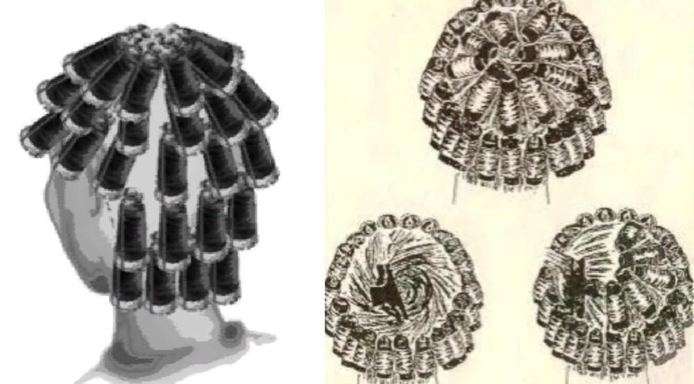Круговая техника накручивания бигуди