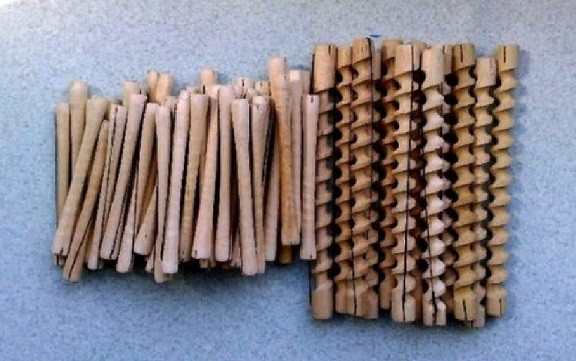 Деревянные бигуди