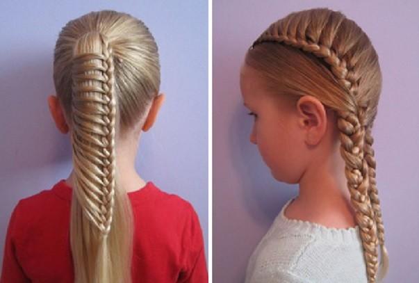 Причёски из косичек для девочек 12 лет
