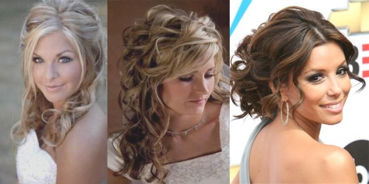 Причёски для праздника на длинные волосы
