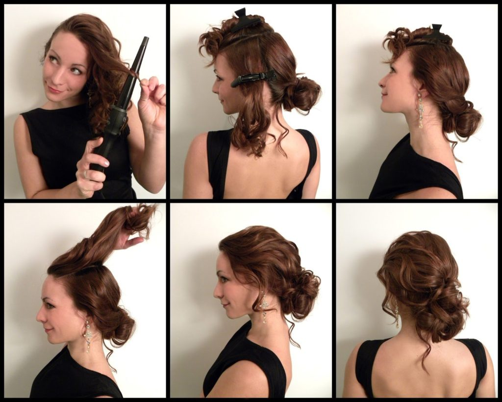 Быстрая укладка для длинных волос своими руками
