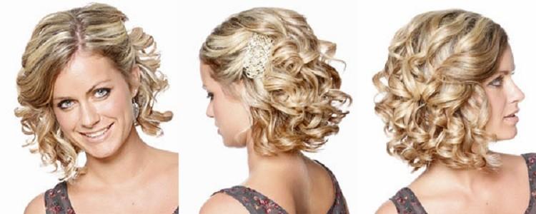 волосы до плеч свадебные прически